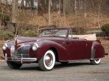 Lincoln Continental 1939, открытый кузов, 1 поколение
