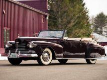 Lincoln Continental рестайлинг 1941, открытый кузов, 1 поколение