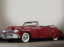 Lincoln Continental 2-й рестайлинг 1946, открытый кузов, 1 поколение