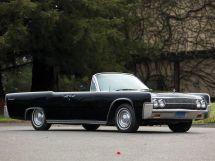 Lincoln Continental рестайлинг 1961, открытый кузов, 4 поколение