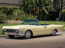 Lincoln Continental 4-й рестайлинг 1965, открытый кузов, 4 поколение