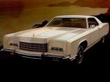 Lincoln Continental рестайлинг 1972, купе, 5 поколение