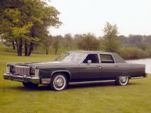 Lincoln Continental 3-й рестайлинг 1974, седан, 5 поколение
