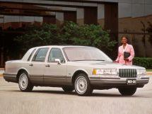 Lincoln Town Car 1989, седан, 2 поколение, FN36