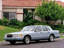 Lincoln Town Car рестайлинг 1992, седан, 2 поколение, FN36