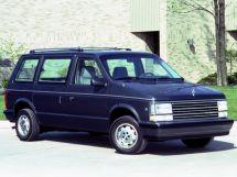 Plymouth Voyager рестайлинг 1987, минивэн, 1 поколение, S