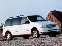 Plymouth Voyager 1990, минивэн, 2 поколение, AS