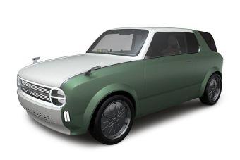 Дизайн  машины выполнен в ретростиле.