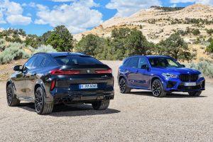 BMW X5 M и X6 M нового поколения стали мощнее и быстрее