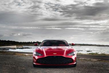 Роскошный Aston Martin DBS GT Zagato получил отделку из золота