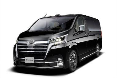 Toyota показала роскошный минивэн Granace для Японии