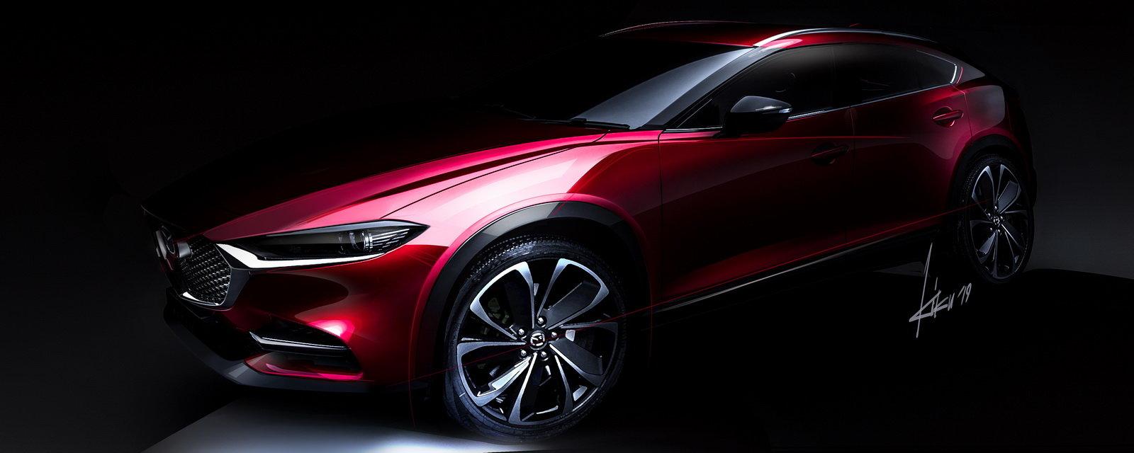 Модернизированная Mazda CX-4: первые фотографии