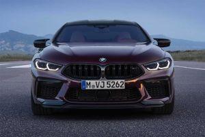 Искра, буря, безумие: BMW представила купеобразный седан M8 Gran Coupe
