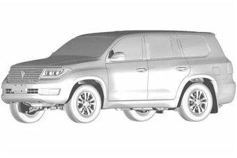 В Китае фейковый Land Cruiser 200 появится в продаже в ближайшие месяцы.