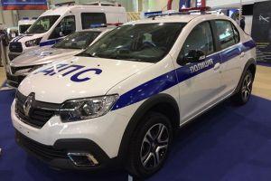 Для ГИБДД разработали новые патрульные Renault Logan Stepway и UAZ Patriot