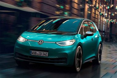 Volkswagen собирается увеличить дальность хода электрокара ID.3