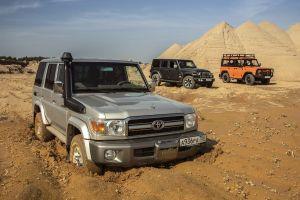 Jeep Wrangler vs Toyota Land Cruiser 70 vs UAZ Hunter «Экспедиция». Путешествие во времени
