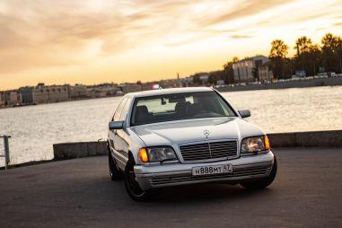 S-класс в легендарном кузове W140. Почему он все еще крут?