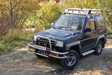 Народное ретро: Daihatsu Rocky F300 1994 года. Забияка