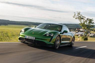 Porsche Taycan Turbo S 2020: лучший в мире электрический автомобиль