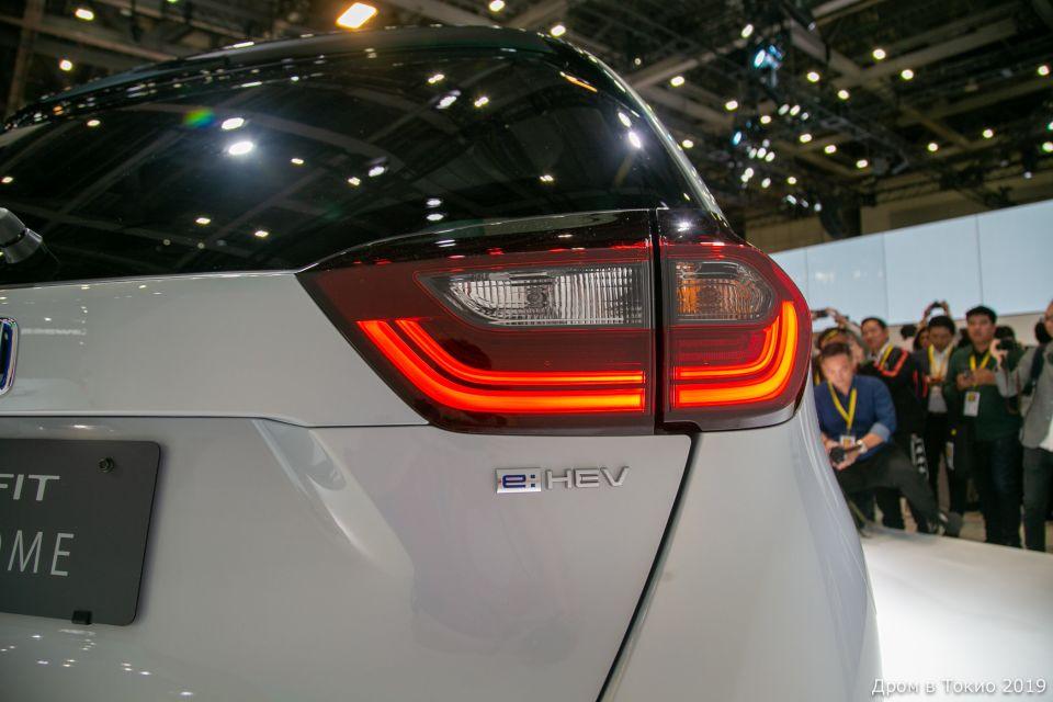 Все новые Honda Fit представлены в гибридной версии