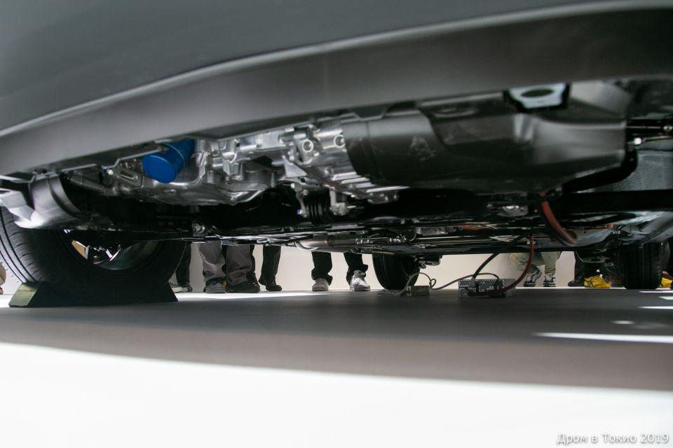 Защитой агрегатов Honda Fit Crosstar похвастать не может