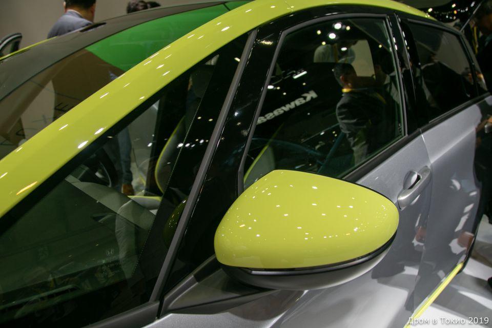 Honda Fit Ness от слова (вы не поверите) фитнесс! Наконец-то скаламбурили
