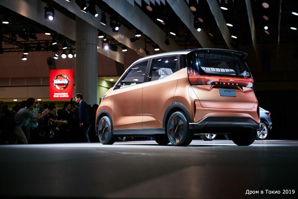 Концепт кей-кара Nissan IMk.