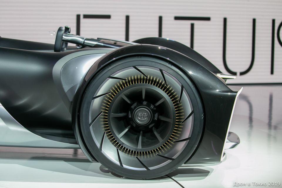 Детали концепт-кара e-Racer.