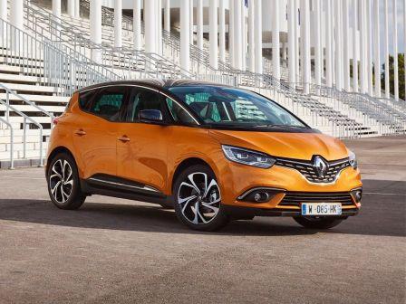 Renault Scenic 2017 - отзыв владельца