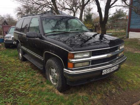 Chevrolet Tahoe 1999 - отзыв владельца