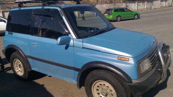 Suzuki Escudo 1993 - отзыв владельца