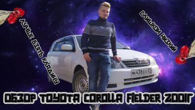 Corolla Fielder 2001 отзыв автора | Дата публикации 19.10.2019.