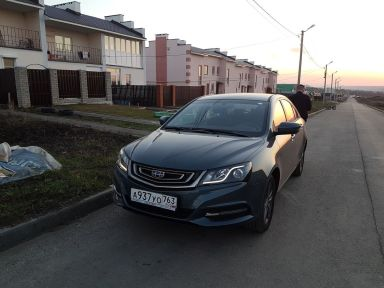 Geely Emgrand EC7, 2019