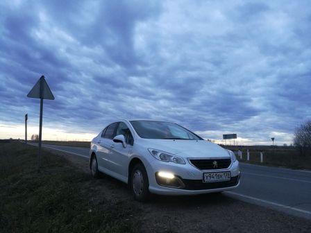 Peugeot 408 2017 - отзыв владельца
