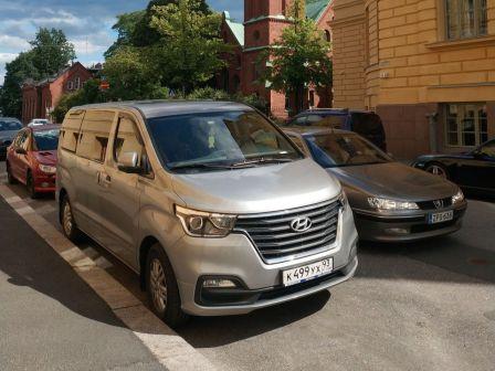 Hyundai H1 2018 - отзыв владельца