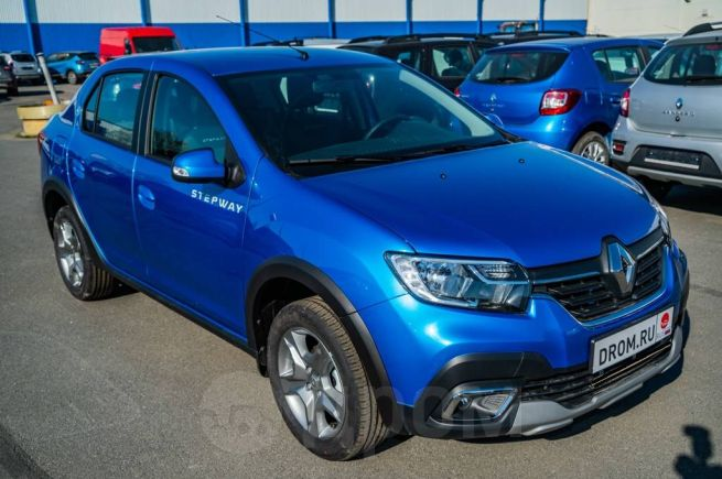 Renault Logan Stepway, 2019 год, 795 980 руб.