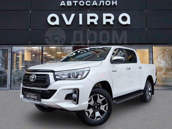 Toyota Hilux Pick Up, 2019 год, 2 672 000 руб.