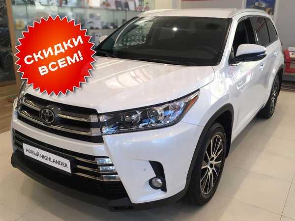 Toyota Highlander, 2019 год, 3 875 000 руб.