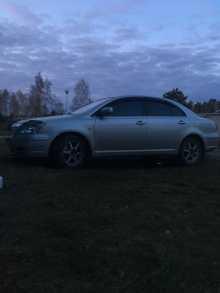 Зима Avensis 2003