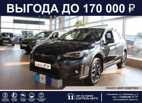 Subaru XV, 2019 год, 2 109 900 руб.