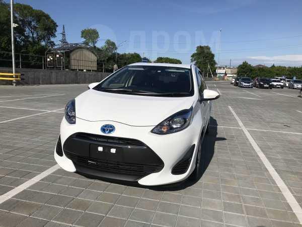 Toyota Aqua, 2017 год, 780 000 руб.