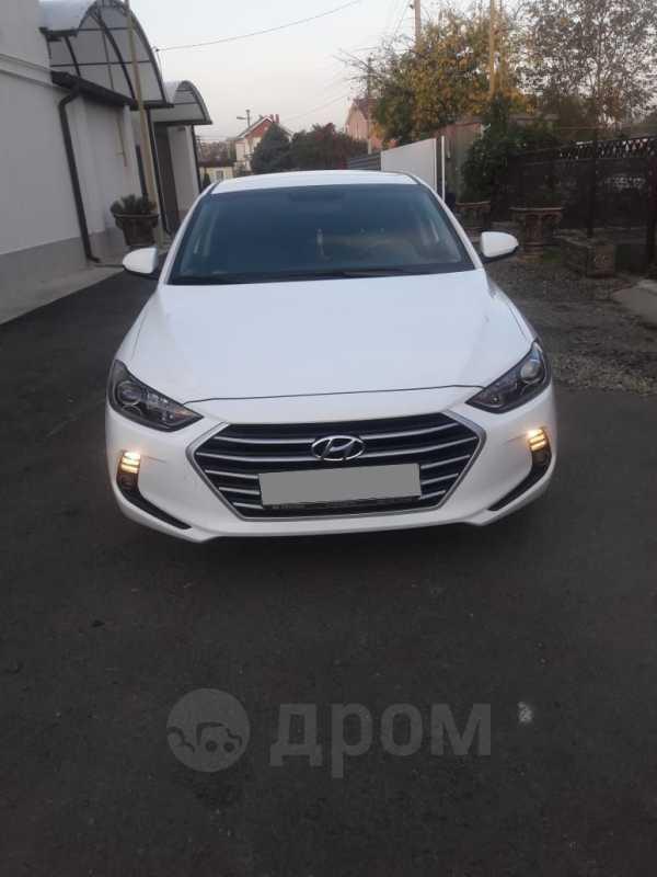 Hyundai Elantra, 2017 год, 1 050 000 руб.