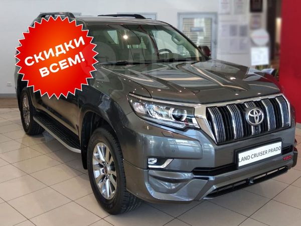 Toyota Land Cruiser Prado, 2019 год, 4 310 000 руб.
