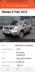 Nissan X-Trail, 2012 год, 880 000 руб.