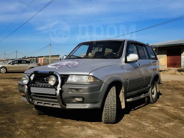 SsangYong Musso, 1995 год, 260 000 руб.