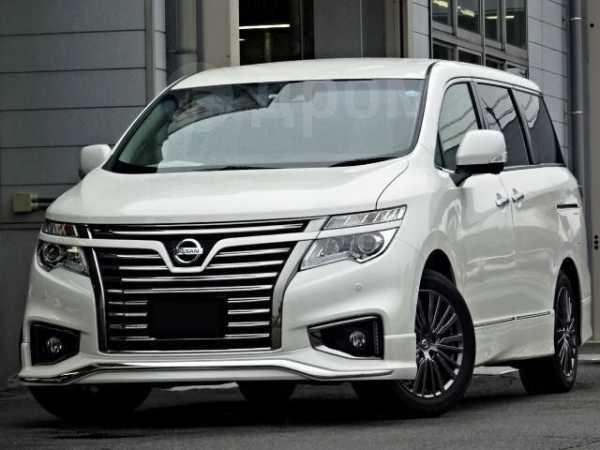 Nissan Elgrand, 2017 год, 1 024 000 руб.