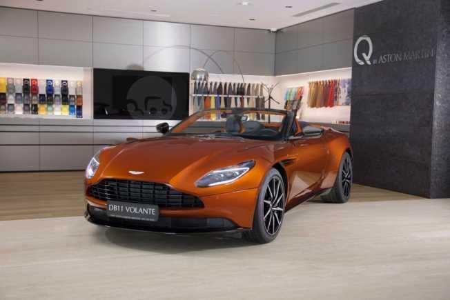 Aston Martin DB11, 2019 год, 18 400 000 руб.