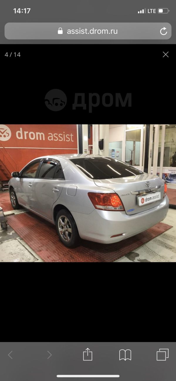 Toyota Allion, 2010 год, 655 000 руб.
