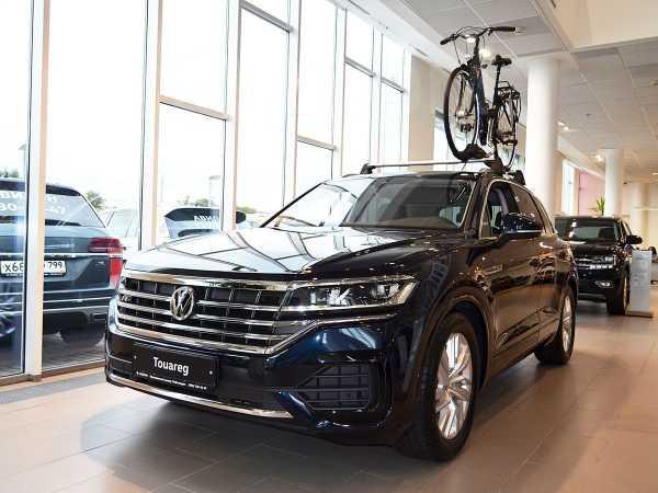 Volkswagen Touareg, 2019 год, 4 344 000 руб.
